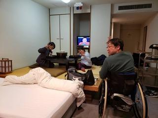 舞洲障害者スポーツセンター(和洋室)